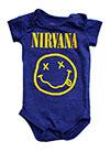 NIRVANA (YELLOW SMILE BLUE) Romper