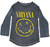 NIRVANA (SMILEY LOGO) YOUTH LONG SLEEVE