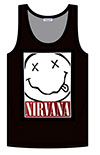 NIRVANA (SMILE SQUARE) Tank Top