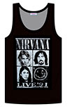 NIRVANA (FOUR SQUARES) Tank Top