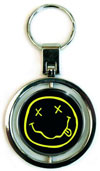 NIRVANA (SMILEY SPINNER) Keychain