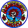 GRATEFUL DEAD (SKULL ROSE) Patch