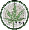 SUBLIME (POT LEAF) Patch