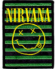 NIRVANA (SMILY STRIPES) Patch