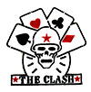 CLASH (SKULL AND CARDS) Patch