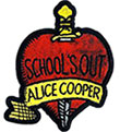 ALICE COOPER (SCHOOLS OUT) Patch