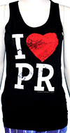 PAPA ROACH (I HEART PR) Girls Tank Top