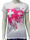 PLUS 44 (REVERSE PRINT) Girls Tee