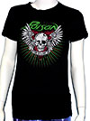 POISON (SKULL WING) Girls Tee