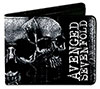 AVENGED SEVENFOLD (OPEN MIND SKULLS) Wallet