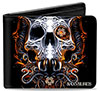 BLACK VEIL BRIDES (FANGED SKULL) Wallet