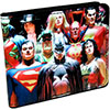 JUSTICE LEAGUE (18 CHARACTER COVER) Wallet