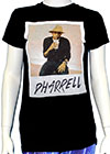 PHARRELL WILLIAMS (SITTING WITH DRINK) Girls Tee