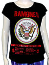 RAMONES (FAREWELL TOUR) Girls Tee