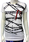 RIHANNA (BARBED WIRE) Girls Tee