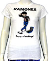 RAMONES (SUZY HEADBANGER) Girls Tee
