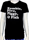 ROB ZOMBIE (AND FISH) Girls Tee
