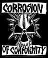 CORROSION OF CONFORMITY (SKULL W/LOGO) Sticker