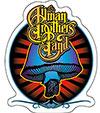 ALLMAN BROTHERS (RADIANT SHROOM) Sticker