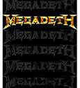 MEGADETH (MULTI LOGO) Sticker