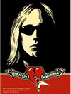TOM PETTY (SUNGLASSES) Sticker