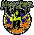 ALICE COOPER (AC IN FLAMES) Sticker