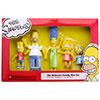 SIMPSONS (MINI FAMILY SET) Figurines