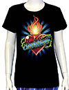 SUBLIME (TORCHED HEART LOGO) Girls Tee