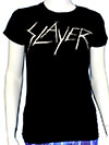 SLAYER (SCRATCHY DISCHARGE) Girls Tee