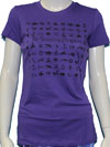 SMASHING PUMPKINS (SYMBOLS ON PURPLE) Girls Tee