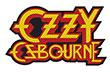 OZZY OSBOURNE (LOGO CUT-OUT) Patch
