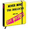 SEX PISTOLS NOTEBOOK (NEVERMIND) Hard Back
