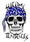 SUICIDAL TENDENCIES (SKULL BLUE BANDANA) Sticker