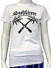 SUBLIME (CROSSED PALMS) Girls Tee