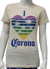CORONA (I HEART) Girls Tee