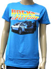 BACK TO THE FUTURE (DELOREAN) Girls Tee