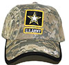 US. ARMY (CAMOUFLAGE LOGO) Cap