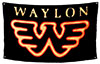 WAYLON JENNINGS (FLYING W) Flag