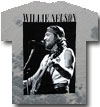 WILLIE NELSON (BLACK AND WHITE) Tie-Dye