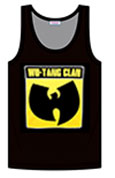 WU TANG (SQUARE LOGO) MEN'S TANK TOP